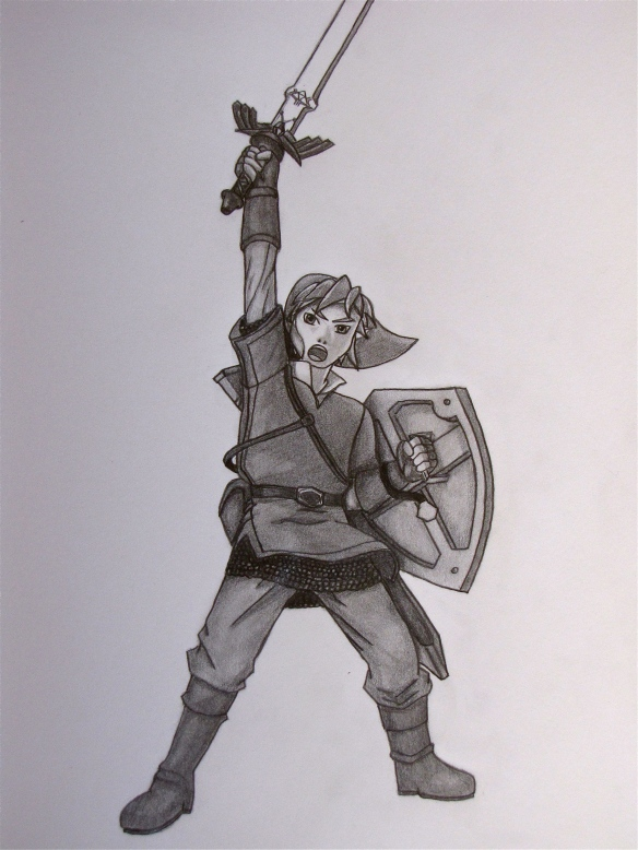 Besides being brave and noble, Link has a great fashion sense.