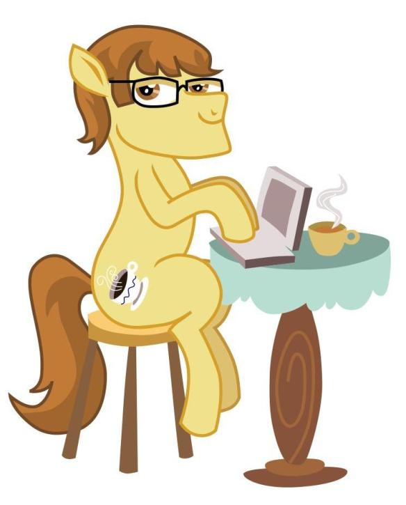 Not many people know this, but I'm actually a pony.