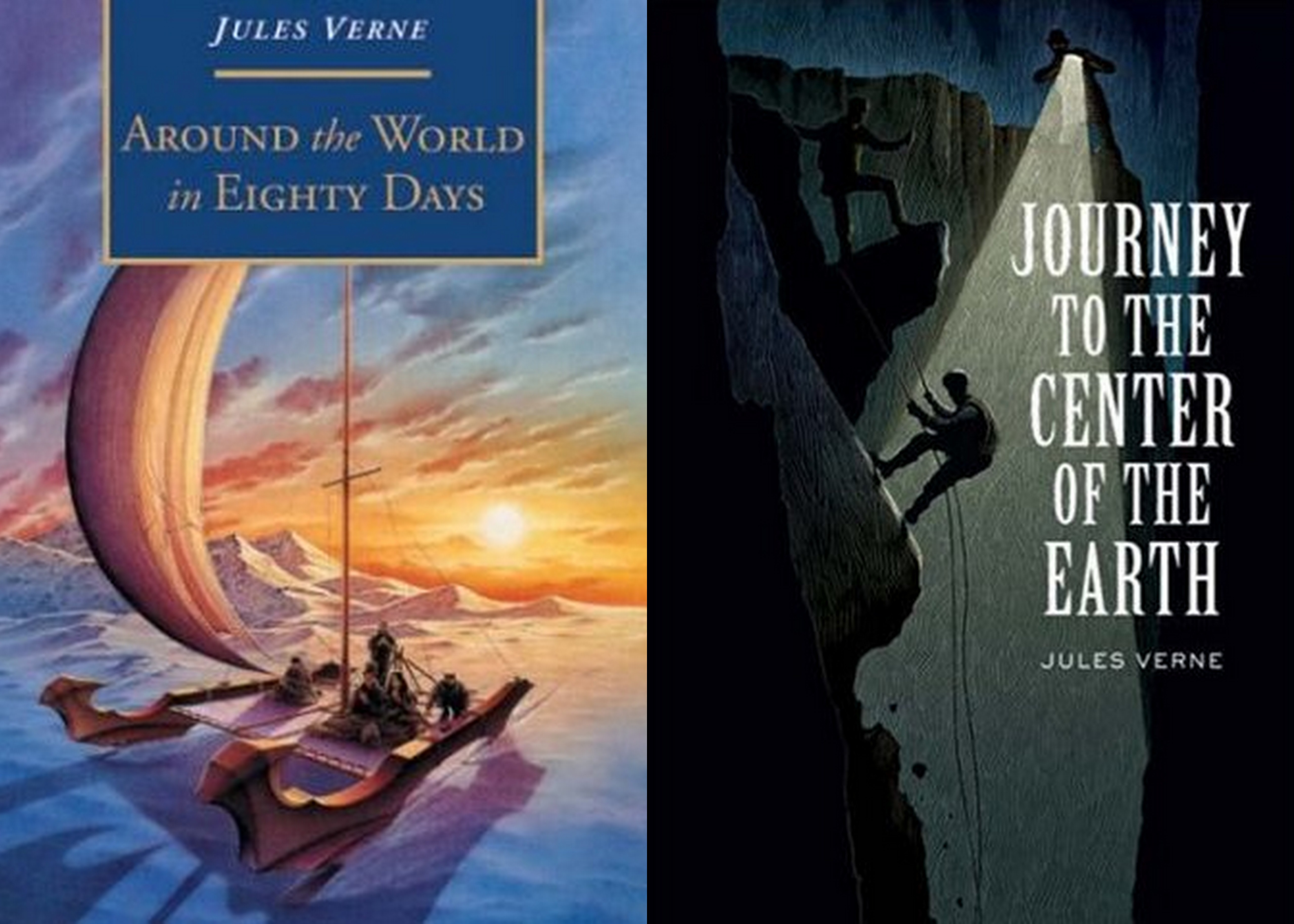 a review of the book journey to the center of the earth
