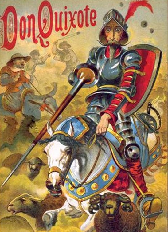 Image result for who is don quixote
