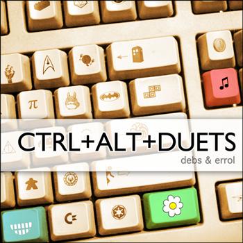 Debs & Errol - CTRL+ALT+DUETS - cover