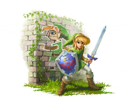Link with Painting