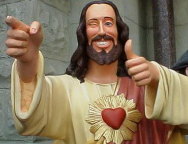"""Hey, man. Got Christ?"""