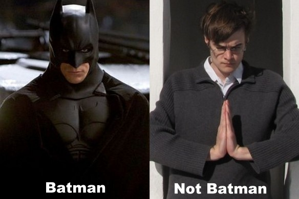 One of These Is Not Batman