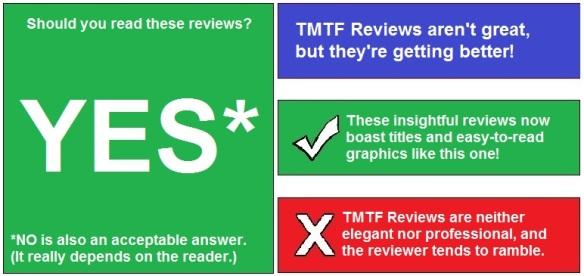 TMTF Reviews - TMTF Reviews
