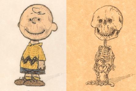 Charlie Brown's skeleton