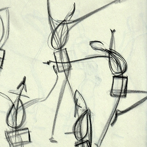 Even the best animations start as rough, quick sketches!