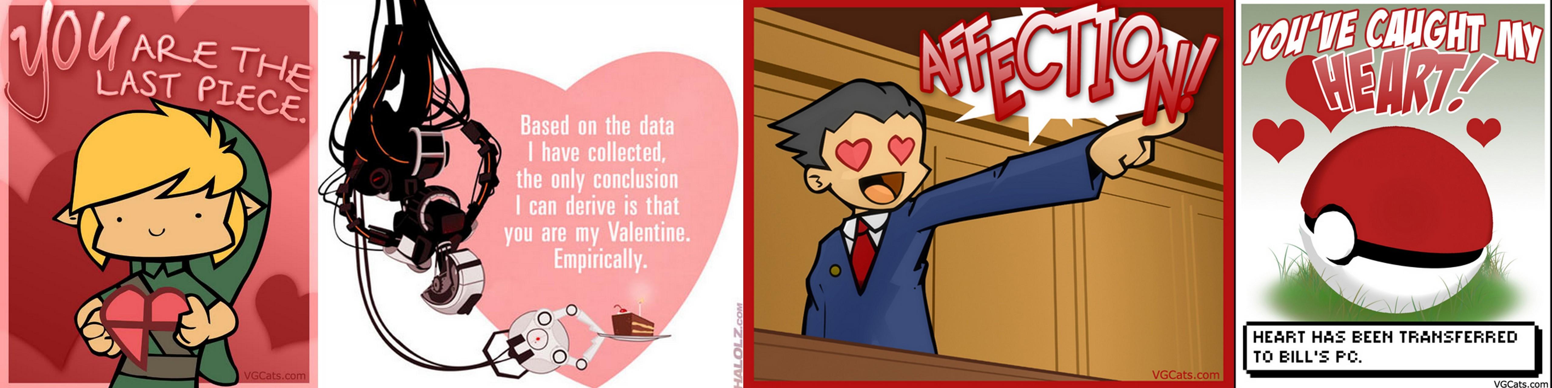 holidays are weird – Legend of Zelda Valentine Card