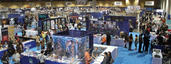 This is a typical con, minus the suffocating crowds of geeks.