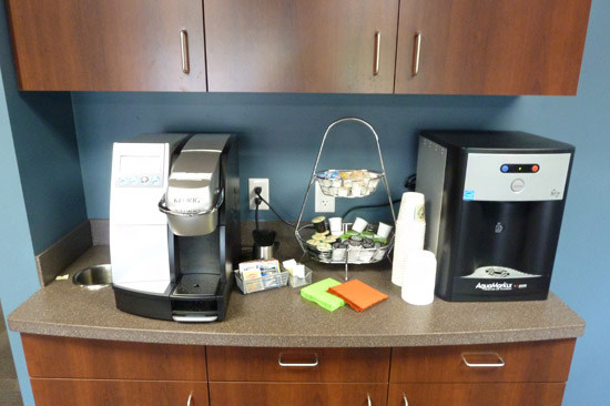 It is a truth universally acknowledged that the coffee station is by far the most important feature of any workplace.