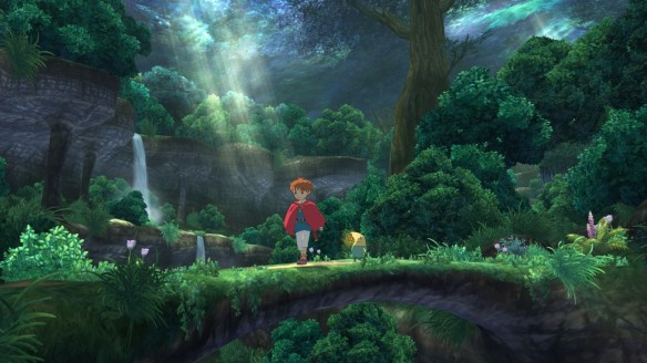 This is a gameplay screenshot, not an animated cutscene. This is what the game looks like. Ain't it pretty?