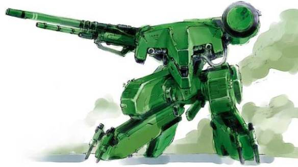 Metal Gear REX art