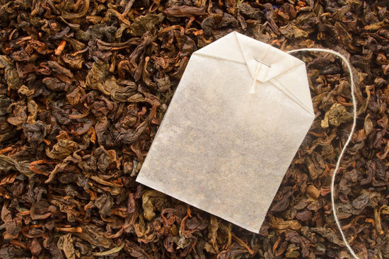 Tea bag and loose leaf tea