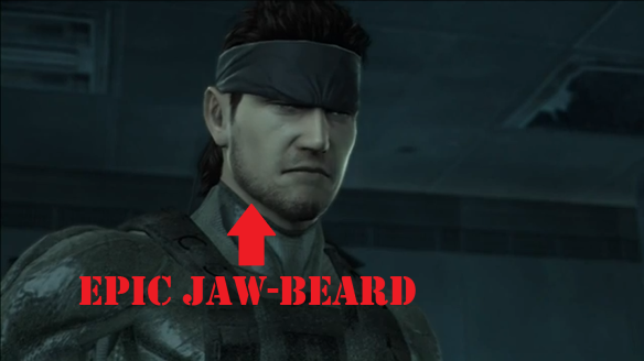 Epic jaw-beard