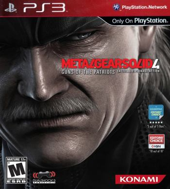 MGS4 cover