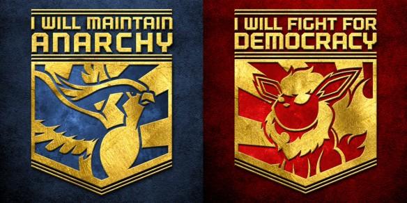 Anarchy Vs. Democracy