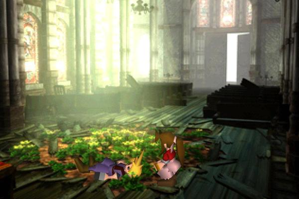 Final Fantasy VII church