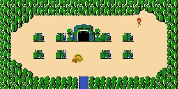 Zelda NES screenshot