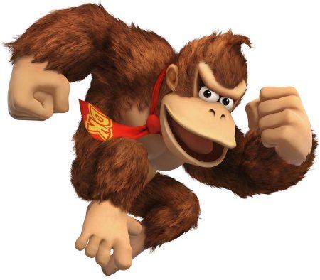 Donkey Kong's necktie